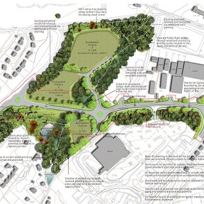 N0244(03)001 -  Queensway Gateway Landscape Masterplan Final - Thumbnail