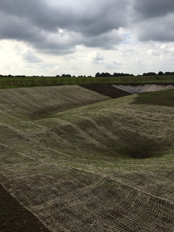 September 2015-The swale replicating the landscape of South Common