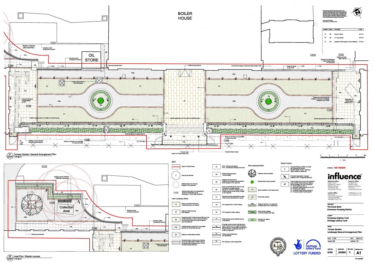 S192(20)002.C Landscape GA Plan - Terrace Garden