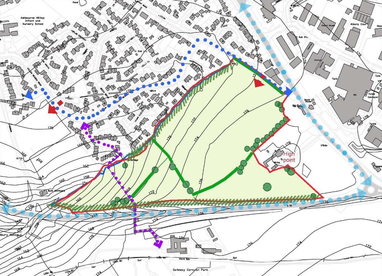 Ashbourne Derbyshire Residential Development cropped