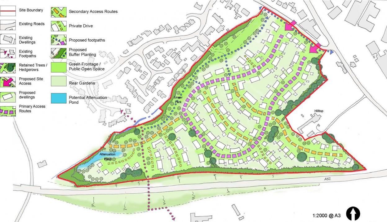 Ashbourne Derbyshire Residential Development