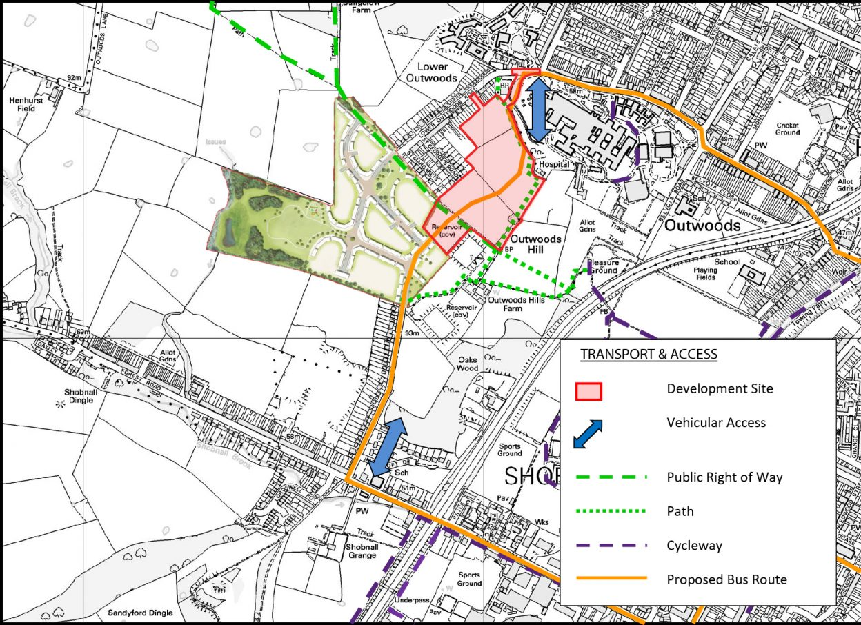 Public Con Access Plan with Consented Scheme-01