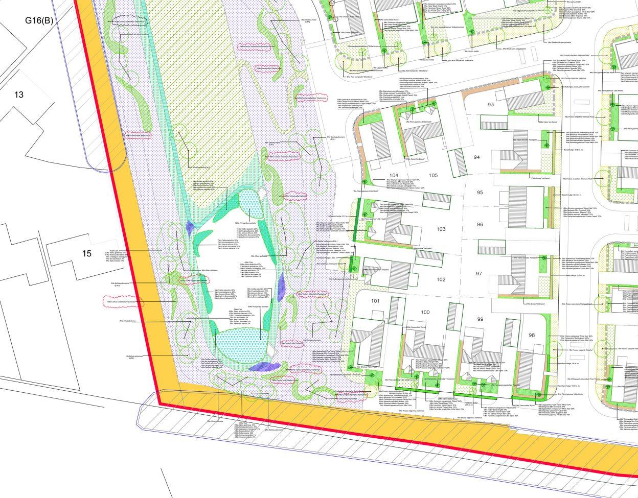 Coalville CAD plan