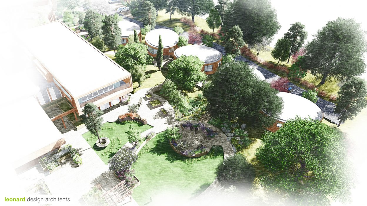 Skylarks-Care-Home-Aerial-Garden